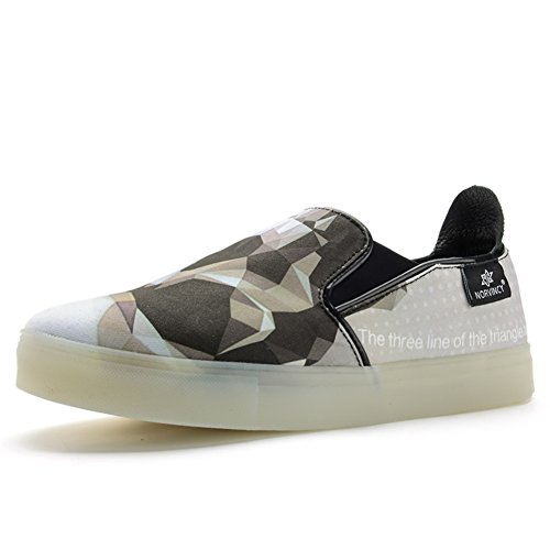 Men's Casual Shoes Dress Adolescent Outdoor Fashion Canvas Shoes Slip On Black Personality B get authentic clearance for cheap y9AOG