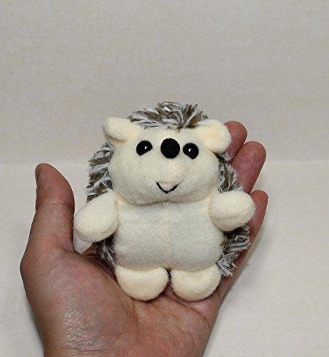 lucore happy hedgehog plush stuffed animal keychain