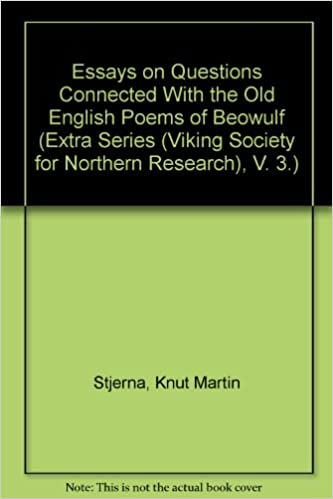Custom Cover Letter Essays On Questions Connected With The Old English Poems Of Beowulf Extra  Series Viking Society For Northern Research V  How To Write A Thesis For A Persuasive Essay also Online Writing Programs Essays On Questions Connected With The Old English Poems Of Beowulf  English 101 Essay