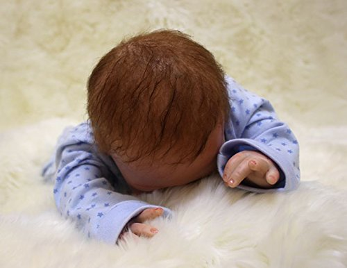 ZIYIUI muñecas Reborn Bebe Reborn niño 20 Pulgadas 50 cm Muñeca Reborn Realista Bebé recién Nacido Hecho a Mano muñecas Reborn Reales Silicona Suave ...