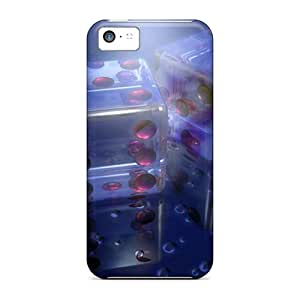 New Cute Funny 3d Dice Case Cover/ Iphone 5c Case Cover