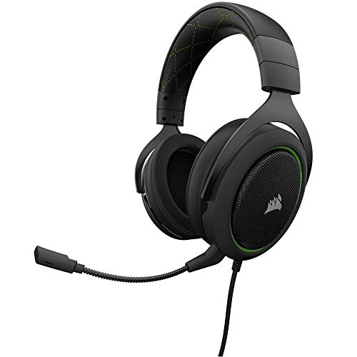 Headset Gamer HS50 P2 Stereo CA 9011171 NA Green Corsair.