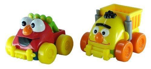 Sesame Street: Bert Dump Truck & Elmo Pickup - Giggle & Go Vehicle Pack Giggle Elmo