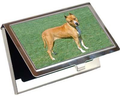 American Staffordshire Terrierビジネスカード/クレジットカードケース   B003BPSDHI