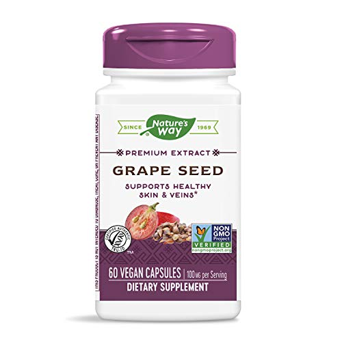 Nature's Way Grape Seed, 60 Vcaps