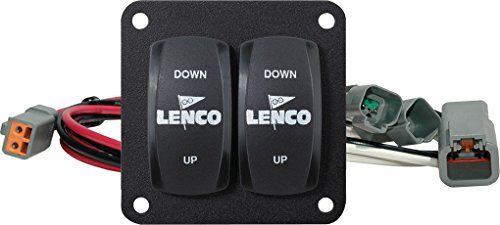Lenco 10222-211D Trim Tab Switch Kit, Double Rocker
