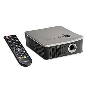 "Emtec Movie Cube Theater T800 500GB - Proyector (304,8 - 1828,8 mm (12 - 72""), 4:3, SVGA (800x600), LED, 230 x 200 x 140 mm, Alámbrico)"