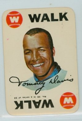 1968 Topps Game 10 Tommy Davis Chicago White Sox Excellent