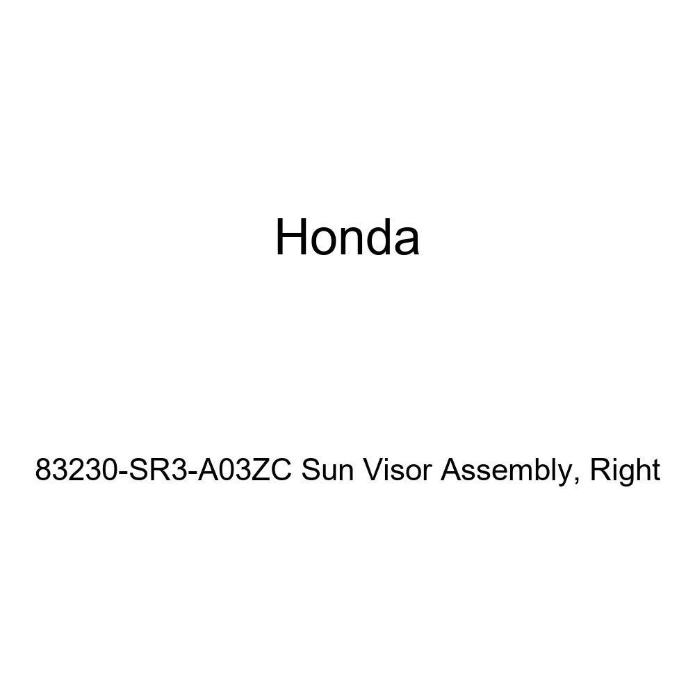 Honda Genuine 83230-SR3-A03ZC Sun Visor Assembly Right