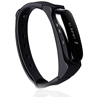 ETTG PL06 Smart Bracelet Watch Bluetooth Wireless Headphones Smartband Watch with OLED Screen Fitness Tracker Intelligent Bracelet for IOS and Android