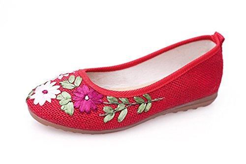 Pour Rouges Sandales Femmes Amitafo Femmes Amitafo Sandales Amitafo Sandales Femmes Pour Rouges Pour 1dwqqx4