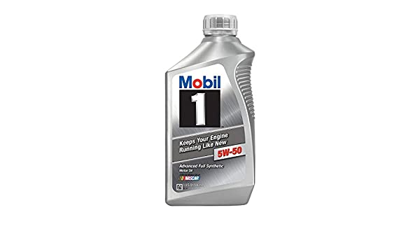 Mobil 1 106035 5W-50 Advanced Full Synthetic Motor Oil - 1 Quart by Mobil 1: Amazon.es: Coche y moto