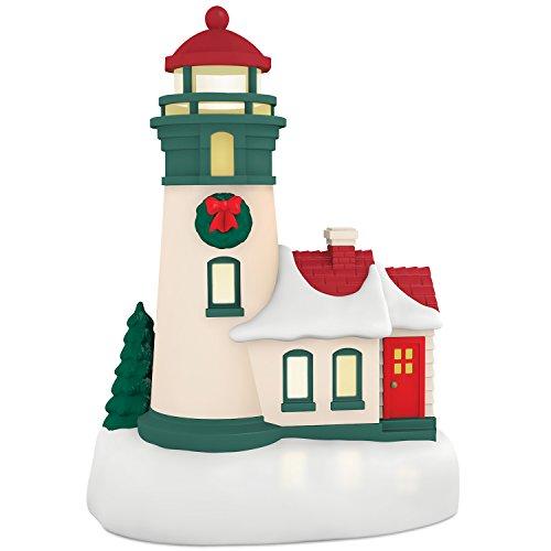 (Hallmark Keepsake 2017 Li'l Lighthouse Mini Christmas Ornament With Light)