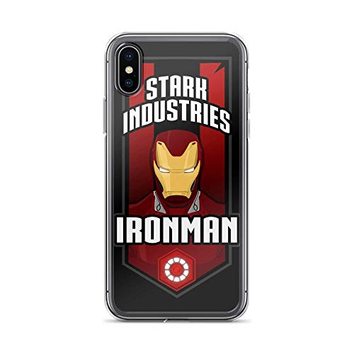 iPhone X/XS Pure Anti-Scratch Case Iron-Man Stark Industries Tony-Stark Stan Lee Avengerss Movie Shield Comic -