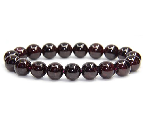 natural-a-grade-red-garnet-genuine-semi-precious-gemstones-healing-10mm-beaded-stretch-bracelet-7-un