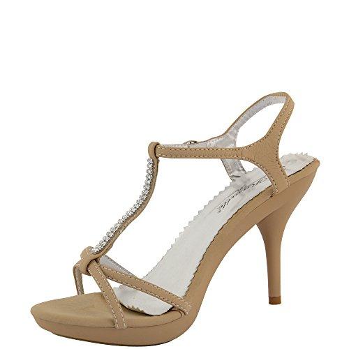 Rasalle Paris - Sandalias de vestir de Material Sintético para mujer Beige - beige
