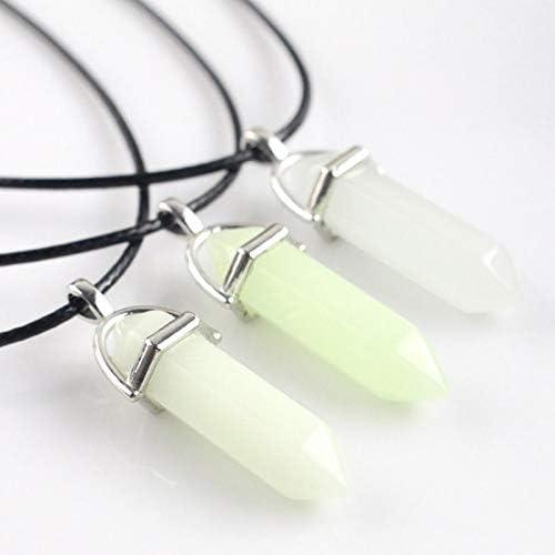 IIUUGG Crystals Luminous Flower Pendant Clear Zircons Necklace Women Luxury