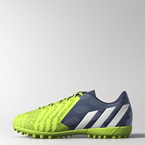 Adidas Predito Instinct Tf Junior Calcio Blu/White/Green, 33