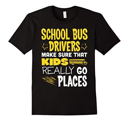 Men's School Bus Driver - Go Places T-Shirt 2XL ()
