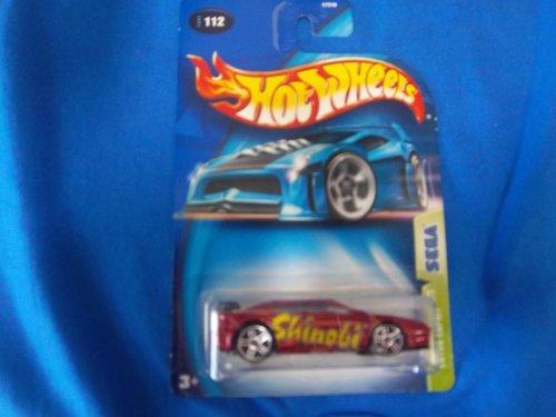 Hot Wheels 2003 Lotus Espirit Sega Series 3/5 MAROON #112