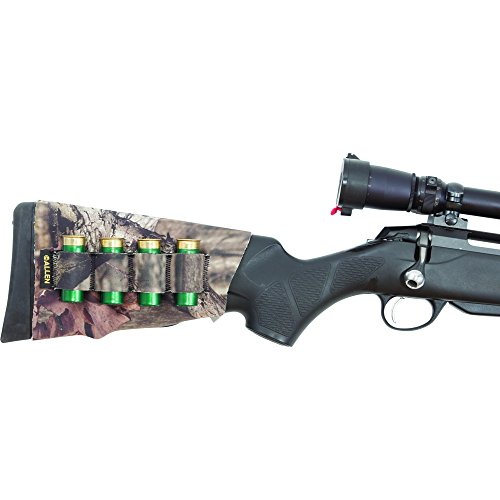 Neoprene Buttstock Shell Holders (Allen Camo Neoprene Buttstock Shotgun Shell Holder, 6 Shells)