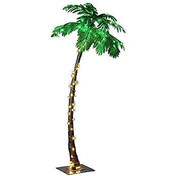 136a053db Amazon.com: LIGHTSHARE 7 Feet Palm Tree, 96LED Lights, Decoration ...