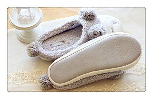 Altijd Mooie Lamslui Zachte Zachte Pantoffels Voor Dames Indoor Slipper Wit £ ¨low £ ©