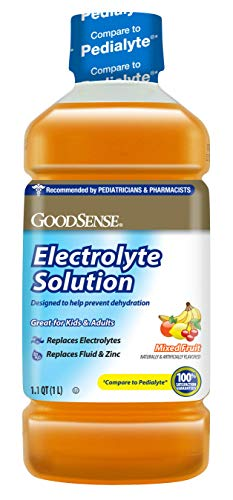 GoodSense Pedia Electrolyte Liquid, Fruit, 34 Fluid Ounce