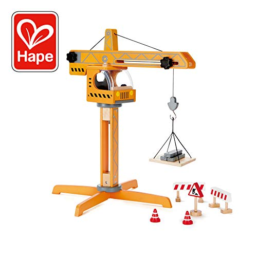 Award Winning Hape Playscapes Crane Lift Playset