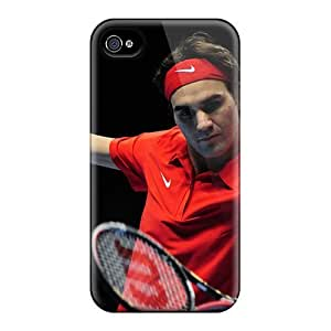 4/4s Scratch-proof Protection Case Cover For Iphone/ Hot Roger Federer Phone Case
