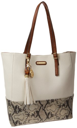 Anne Klein Snake Charm Large Tote