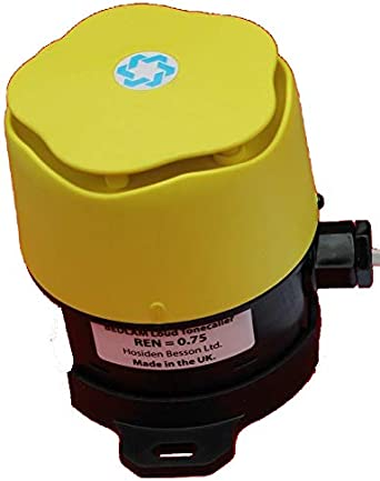 Ideal Noisy Factory Line Powered Bedlam Tone Caller Electronic Sounder Outdoor Landline Telephone Amplified Ringer VERY Loud Indoor Penetrating 105dBA IP66 Weatherproof 3 metre Cabl, Doubler