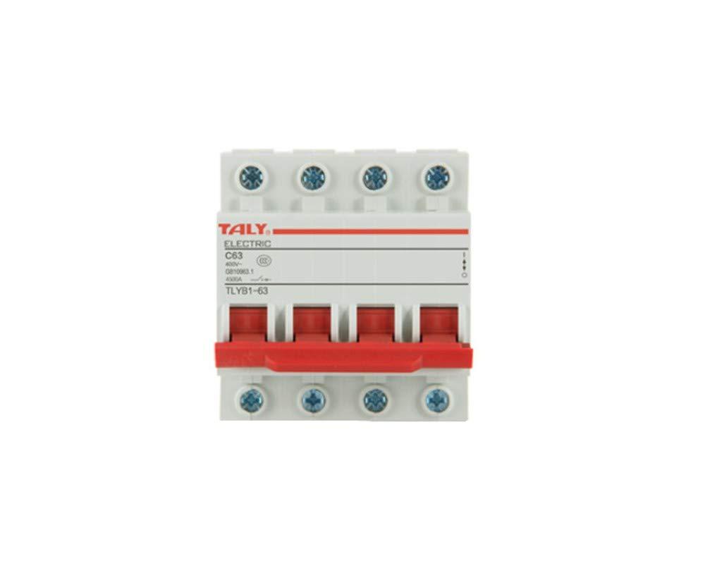 OIASD, commutateur d'air, Protecteur de fuiteDisjoncteur Miniature de commutateur Domestique DZ47-63 de Protection Contre Les surcharges de Court-Circuit 4P air Open gate gate électrique, 6A commutateur d'air