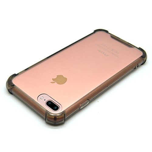 iProtect Apple iPhone 7, iPhone 8 Plus TPU Shockproof Outdoor Case Schutzhülle in grau