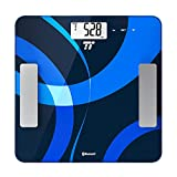 Body Fat Analyzer, TaoTronics Bluetooth 4.0 Digital Bathroom Scale Measures ....