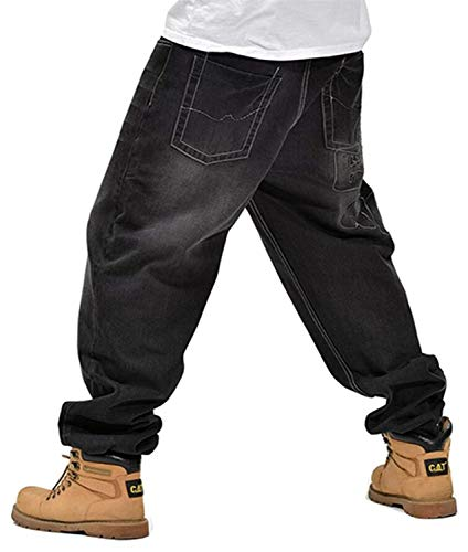 Larghi Pantaloni Denim Moda Colour Uomo Clubwear Hip Jeans Casual Alla Hop In Moderna Stile Da Ballo dppwvqr6