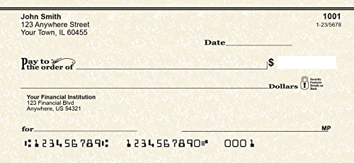 Parchment Personal Checks (4 Boxes of Singles)