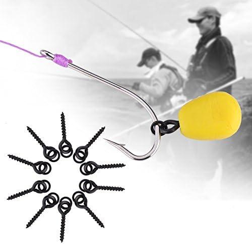 100Pcs Fishing Boilie Screw Carp Bait Boilies Fishing Tackle Accessories 10mRSH5