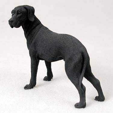 - Conversation Concepts Great Dane Black W/Uncropped Ears Standard Figurine