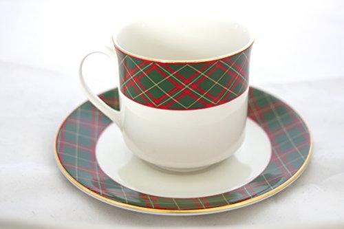 Royal Doulton Tea Saucer (Royal Doulton Tartan Teacup and Saucer)