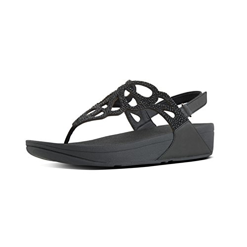 Women's Crystal H71 Black Sandal fitflop Bumble Bg5nU
