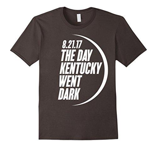 Mens Kentucky Path of Totality 2017 Solar Eclipse T-Shirt Small Asphalt Kentucky Path