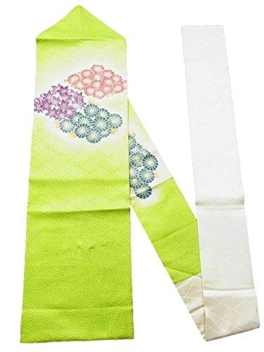 意気込み生じる口述するリサイクル 名古屋帯  絞り染め 菊や楓、梅の花
