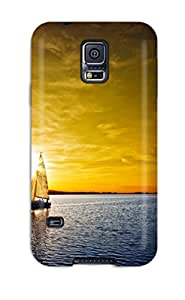New Premium YFRmCYp10875yqtbQ Case Cover For Galaxy S5/ Amazing Sunset Protective Case Cover