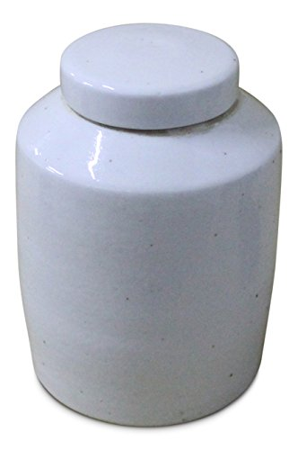 Sarreid 40138 Lidded Ceramic Vessel, ()