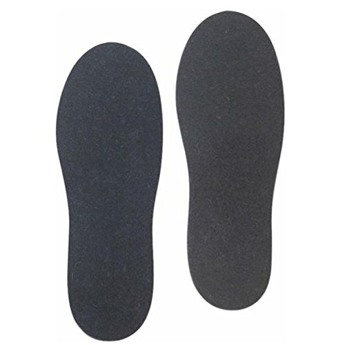 LaCrosse Men's 9mm Felt Insoles, Black, 13 M (Lacrosse Wool Felt)
