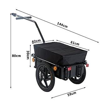 carro de carga para bicicleta barato y duro
