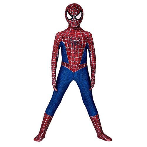YongEnShang The Spider-Verse Kids Bodysuit Spiderman Superhero