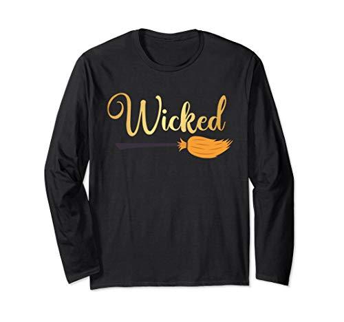 Wickde Is Halloween Costom Party Longsleeve