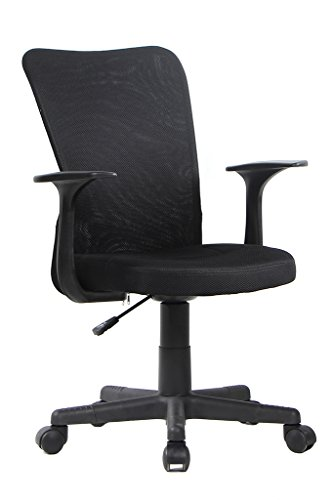 Bonum Home Office Black Mesh Swivel Task Chair